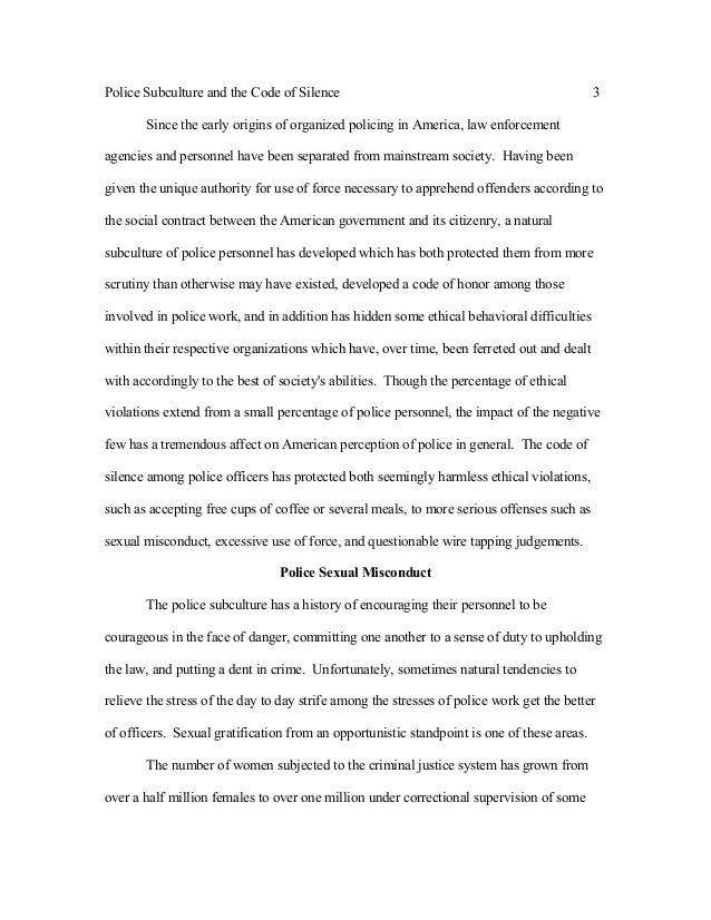 ethics in law enforcement essay This is not an example of the work written by our professional essay writers ethics of police officers to the law enforcement code of ethics which is a code.