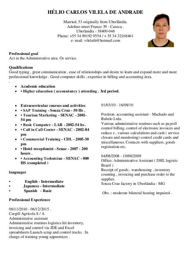 What is cv resume template