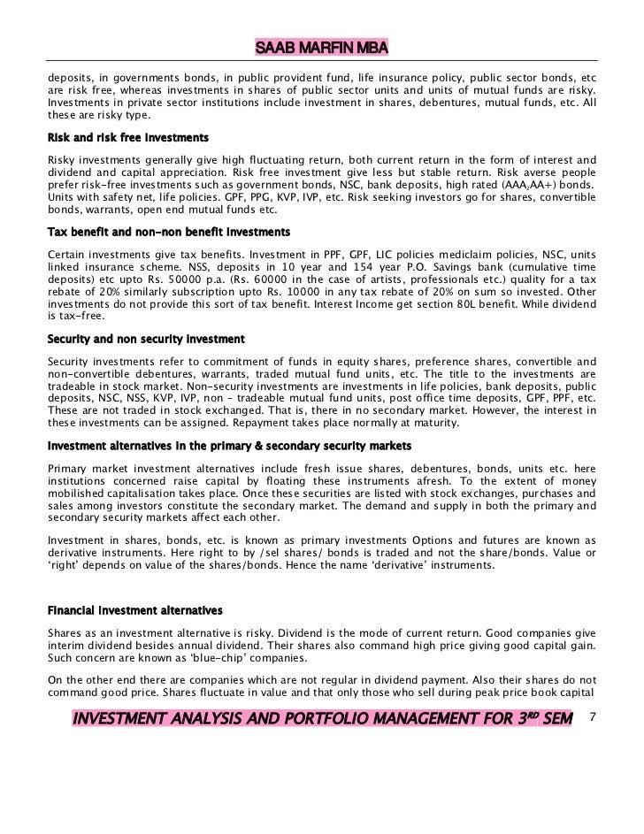 Investment Analysis and Portfolio Management 9th Edition