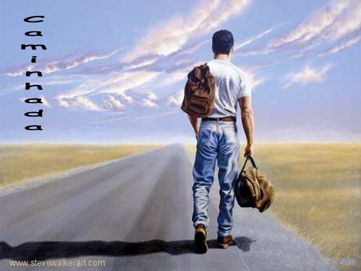 Sei que a minha caminhada tem um destino e uma direção, por isso devo medir meus passos, prestaratenção no que faço e no q...