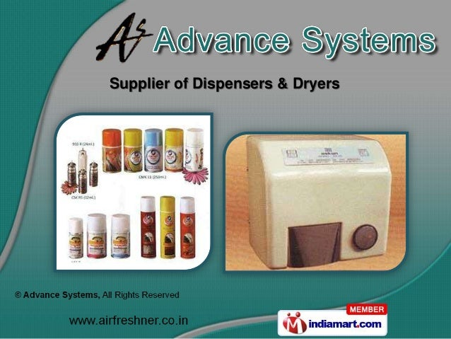 Supplier of Dispensers & Dryers