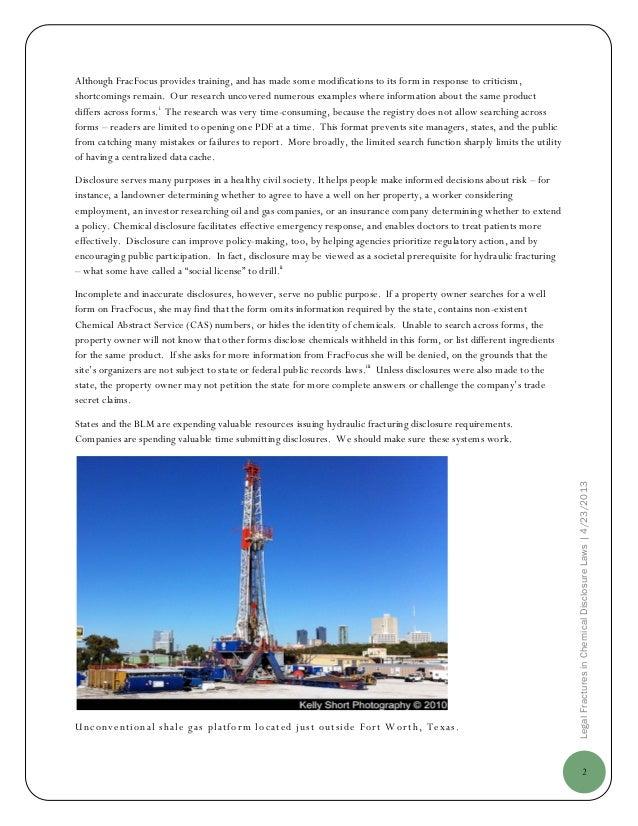 Harvard Analysis Sees Risks in Reliance on Fracking Data Base Slide 3