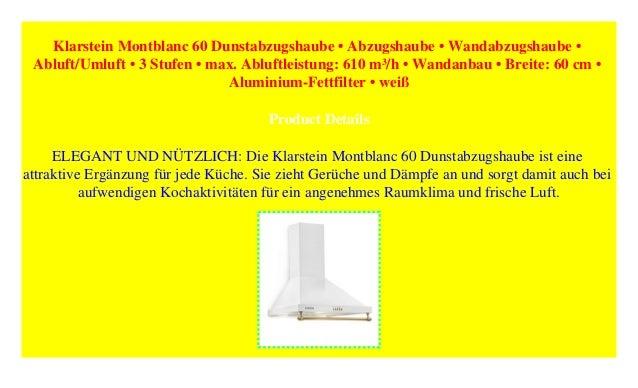 Gutmann Dunstabzugshaube Reset 2021