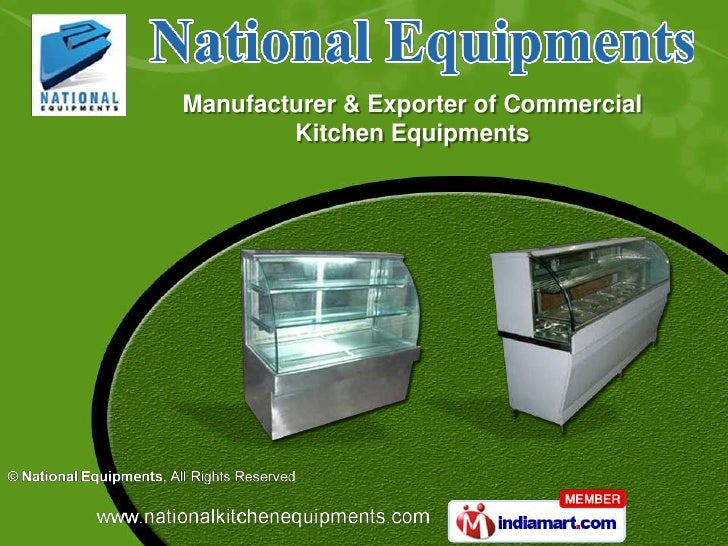 Manufacturer & Exporter of Commercial        Kitchen Equipments