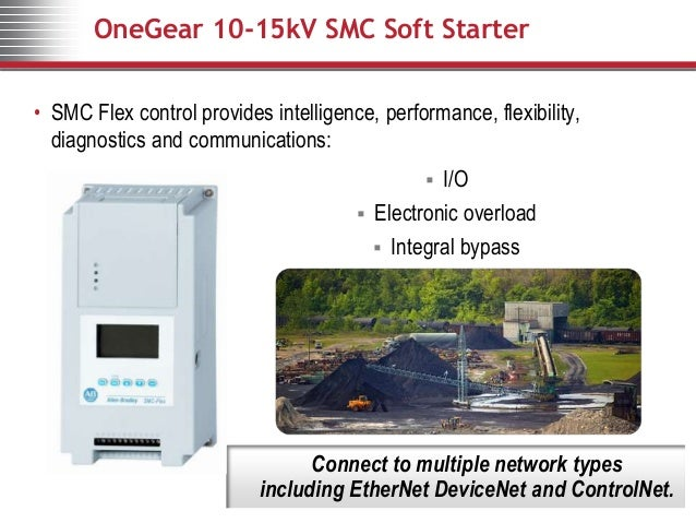 onegear smc 15kv soft starter