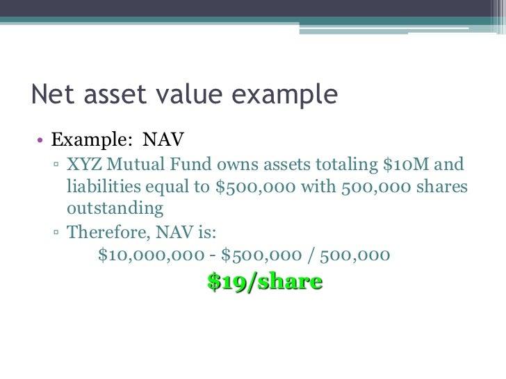Maximum net asset value test example | book value | business economics.