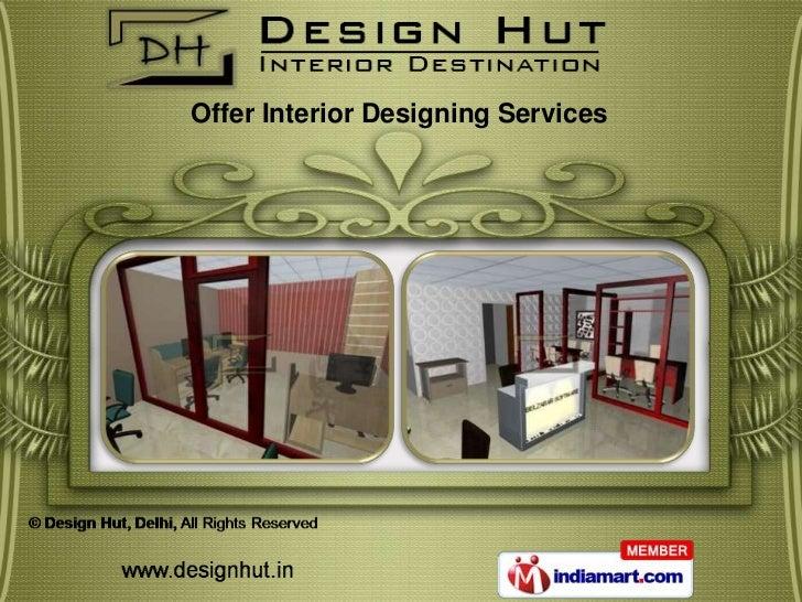 Offer Interior Designing Services