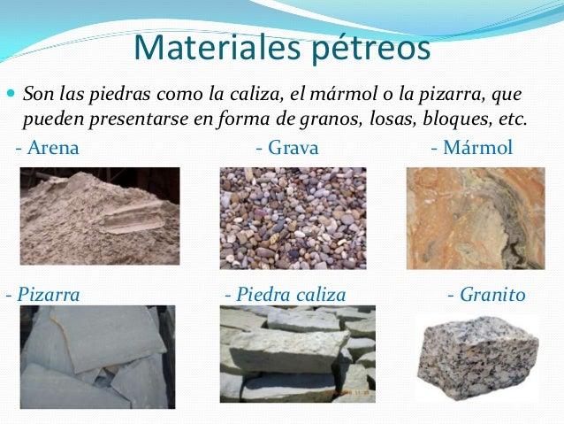 Construccion for Materiales de construccion marmol