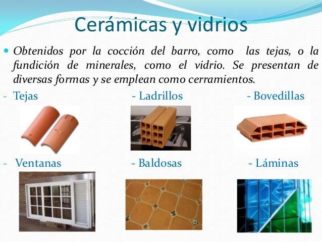 Construccion - Tipos de materiales de construccion ...
