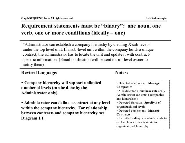Binary agreement definition