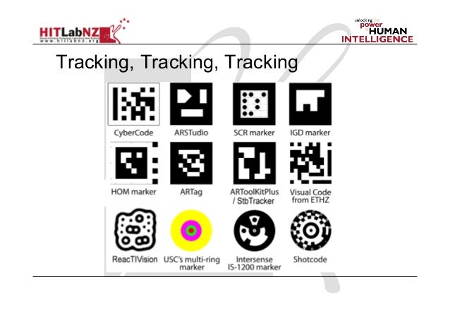 2013 Lecture3: AR Tracking