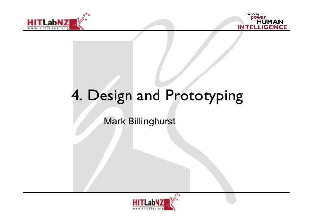2013 Lecture4: Designing AR Interfaces