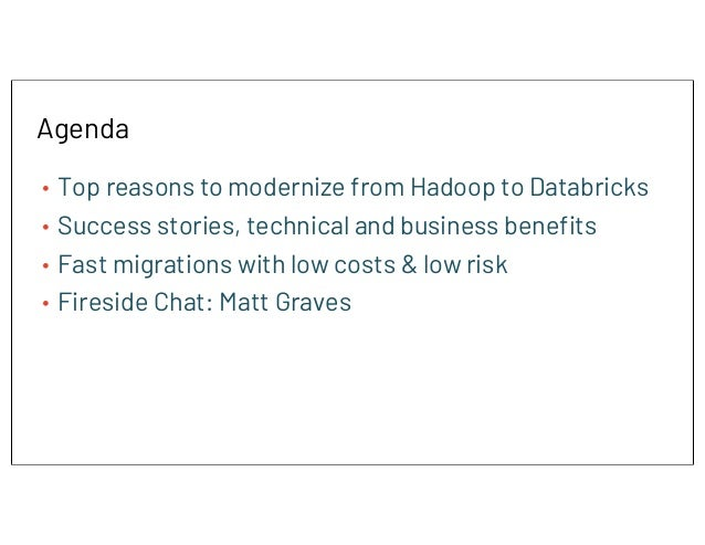 Modernizing to a Cloud Data Architecture Slide 2