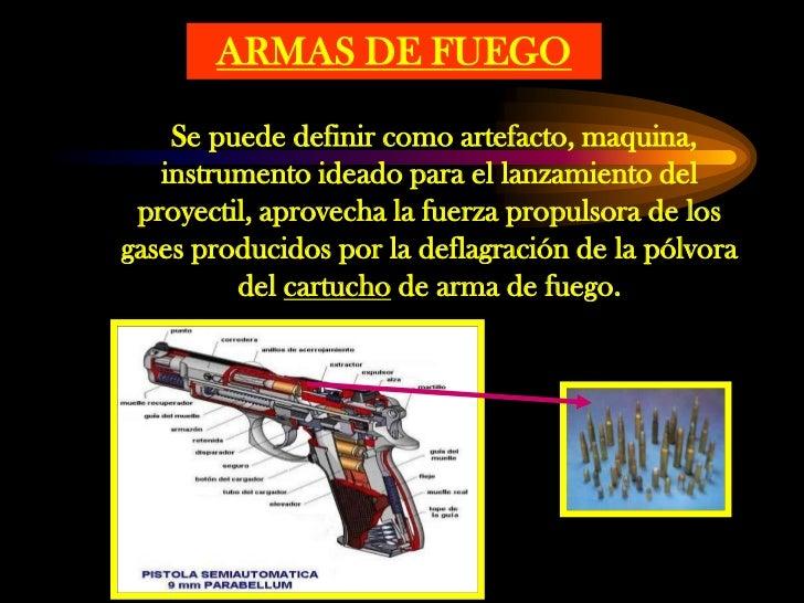 Bal stica forense for Muebles para guardar armas de fuego