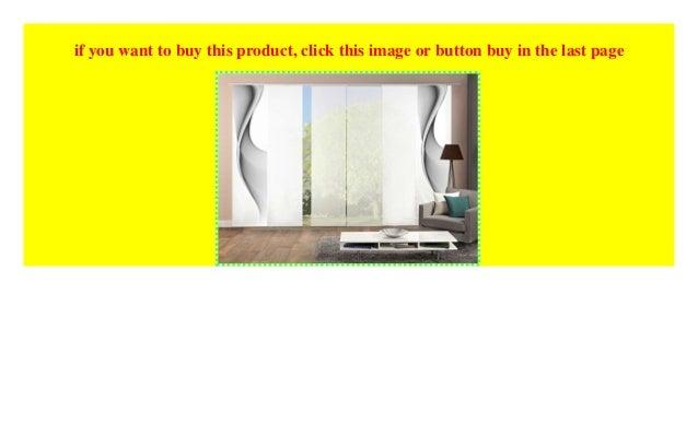6er-Set Flächenvorhänge EASTON, optimal aufeinander ...
