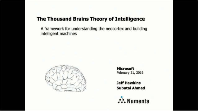 The Thousand Brains Theory: A Framework for Understanding the Neocortex and Building Intelligent Machines