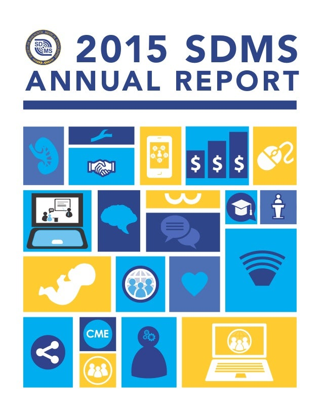 2015 SDMS ANNUAL REPORT $ $ $ CME