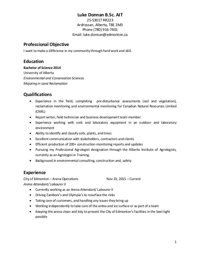 ecology team lead resume 30