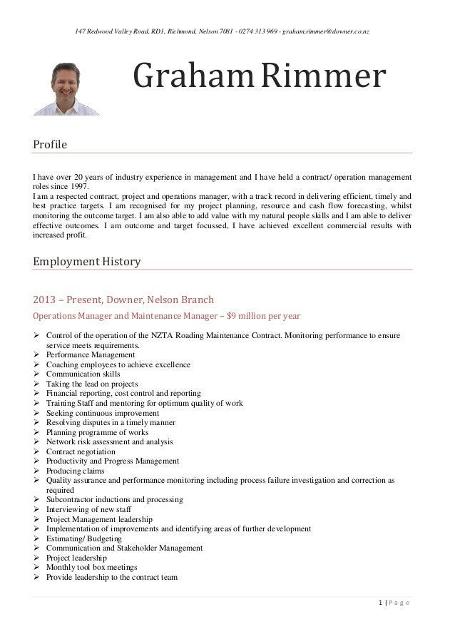 GR CV management Bullet Final 1