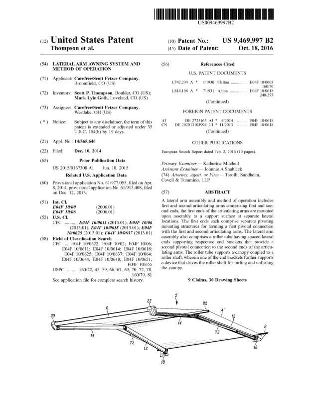 US Patent 9,469,997