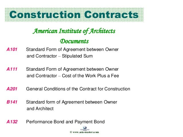 Managing Supervising Projects Consultants Contractors
