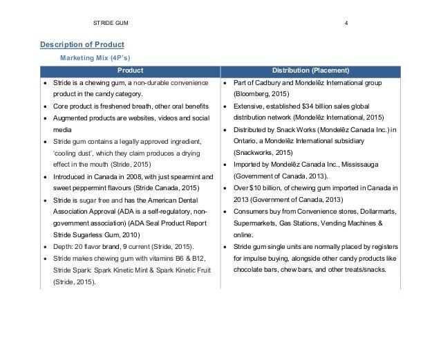 Marketing Report - Team Balaam - Stride Spearmint Gum 150330 0720 Fin…