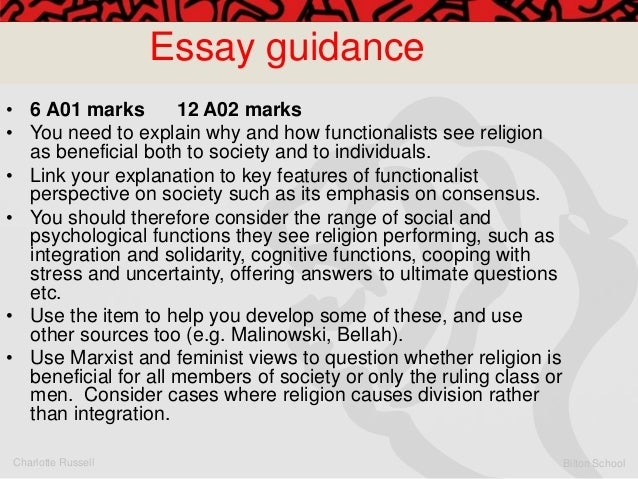 Functionalism and Marxism Essay Sample
