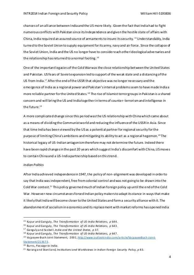 security major essay william hill  4 intr2014 n foreign and security policy