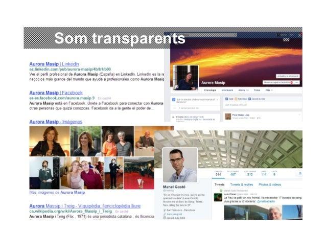 Conversar amb la ciutadania per les xarxes socials. Aurora Massip i Manel Gastó Slide 2