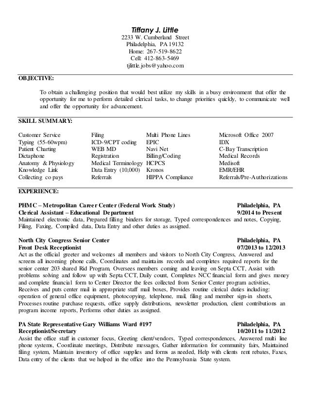 Awesome TJL Up To Date Resume (General)