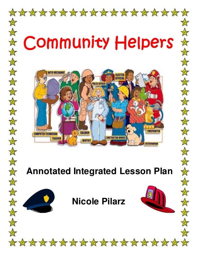 Community Helpers Activities For Kids