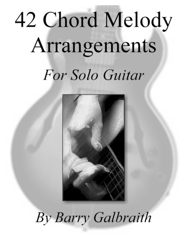 42 Chord Melody Arrangements By Zager Guitars Zager Reviews