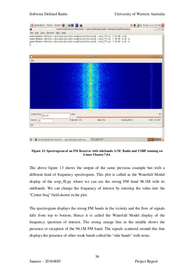 thesis software defined radio Duration of the thesis  area of heterogeneous 5g radio access networks  (oai ) software defined radio platform following sdn and nfv.