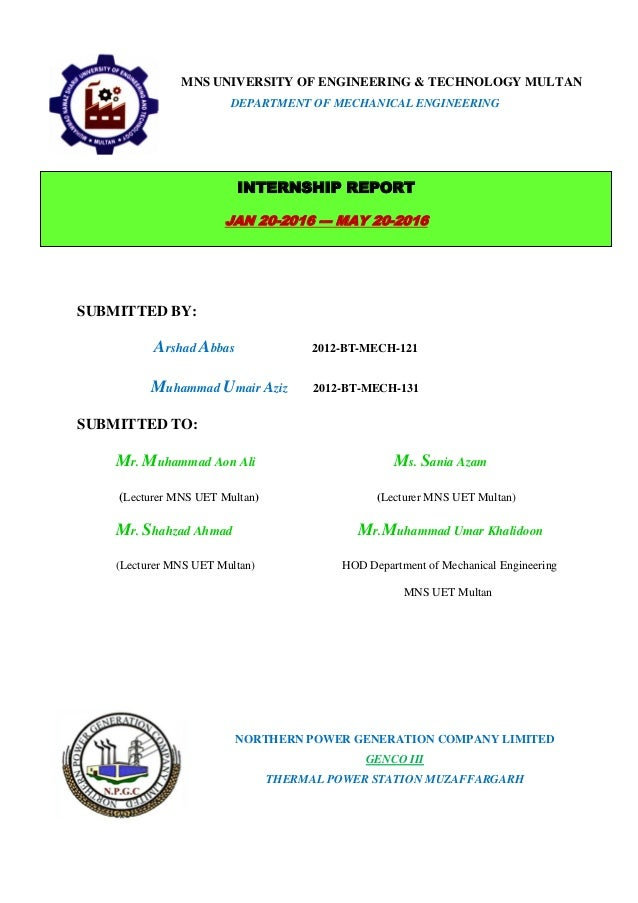 internship report on ccbpl multan Internship report on ccbpl pakistan p a g e summer internship report submitted to: gujranwala, faisalabad, rahimyar khan, multan and sialkot.