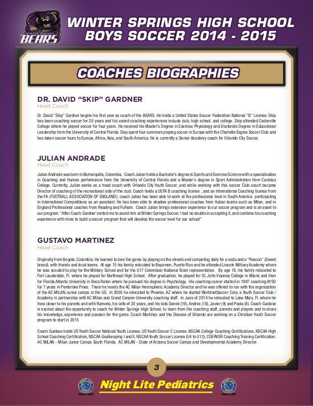 Winter Springs Soccer Booklet 3