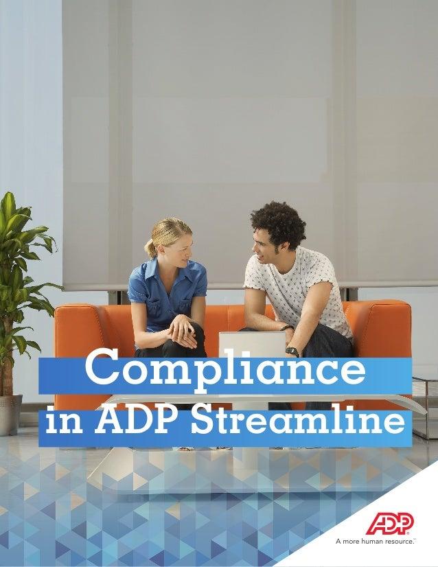 Global Compliance Across the ADP Portfolio
