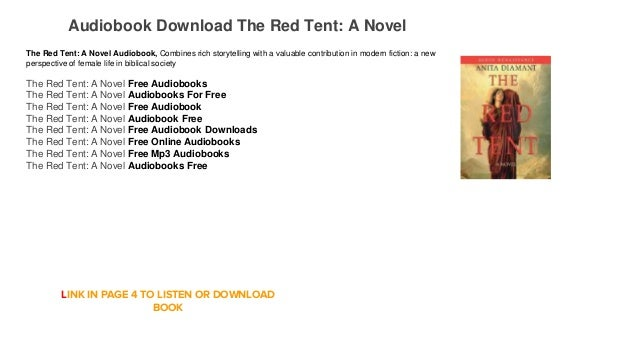 Audiobook Free Streaming Online The Red Tent A Novel