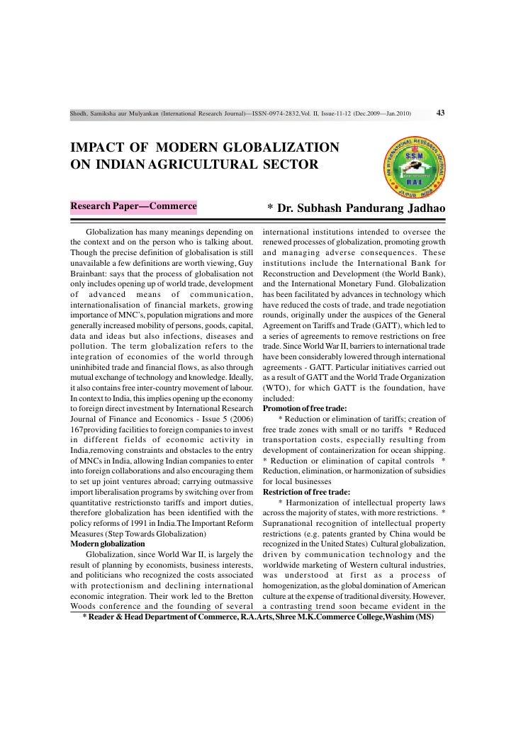 Shodh, Samiksha aur Mulyankan (International Research Journal)—ISSN-0974-2832,Vol. II, Issue-11-12 (Dec.2009—Jan.2010)   4...