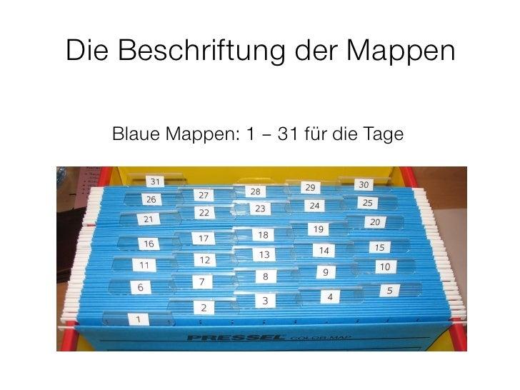 Wiedervorlage Mit 43 Mappen