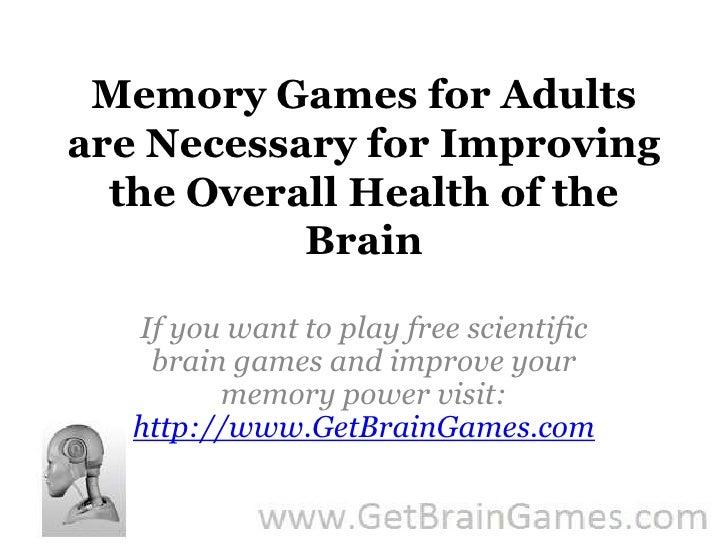 activities to improve adult add healing