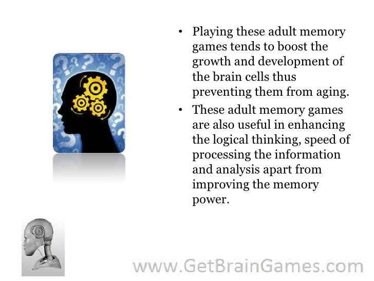 Adult Memory Games