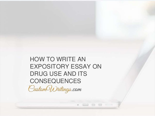 How to write an essay on drugs