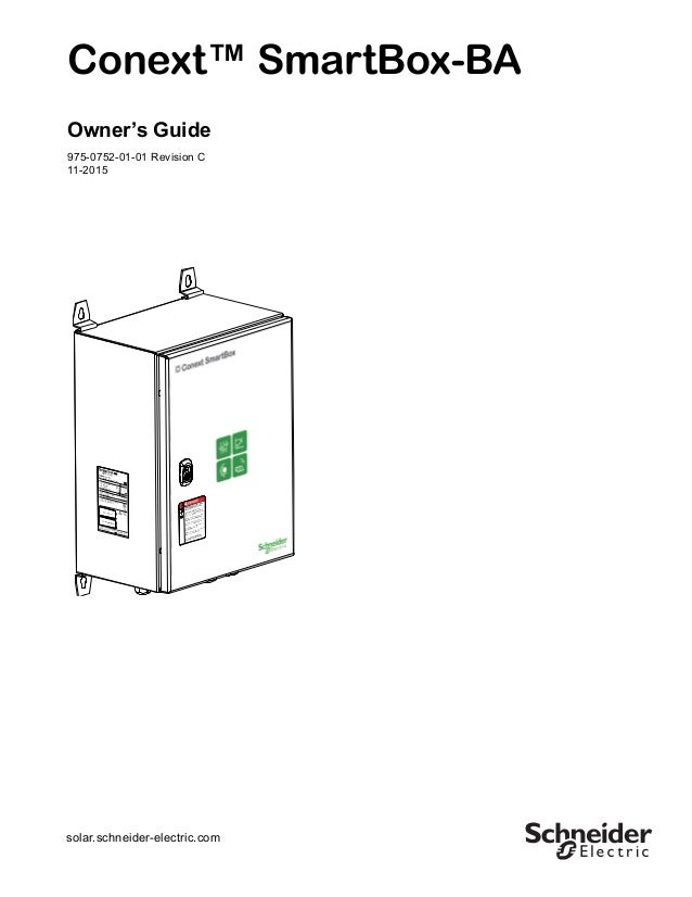 Conext SmartBox-BA Owners Guide (975-0752-01-01_Rev-C)_ENG