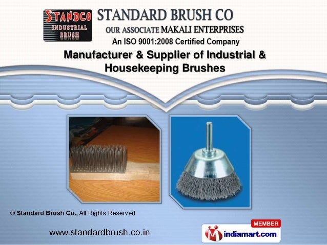Manufacturer & Supplier of Industrial &      Housekeeping Brushes