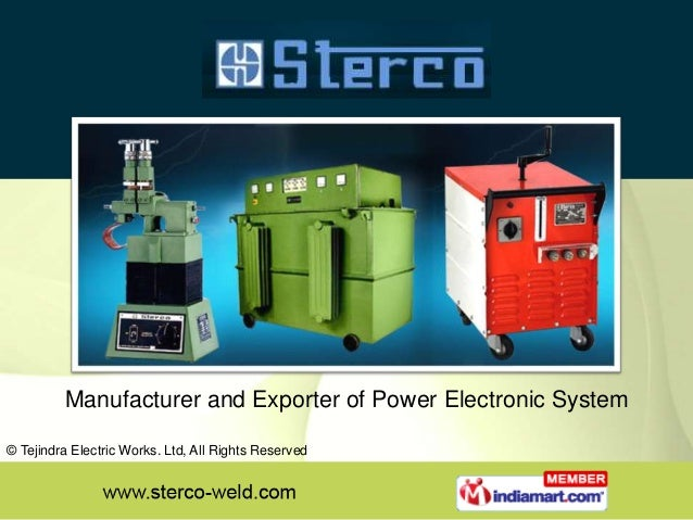 Manufacturer and Exporter of Power Electronic System © Tejindra Electric Works. Ltd, All Rights Reserved