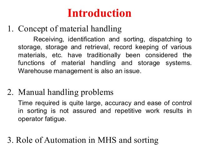 Application of image processing in material handling and (1) Slide 2