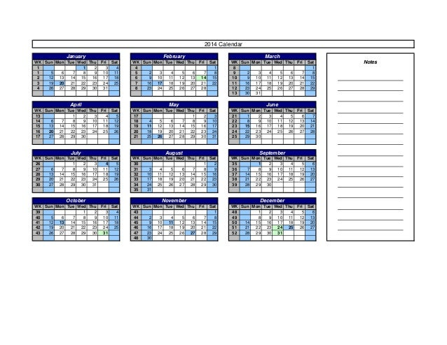 Calendar Templates 2014 With Holidays Usa Uk Australia Canada