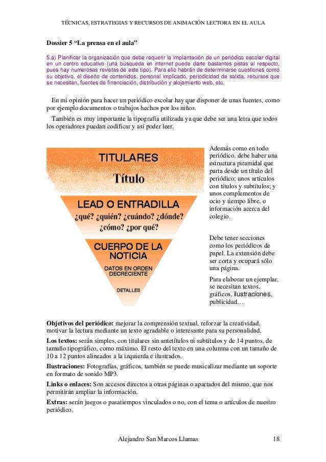 43335362 tecnicas-y-estrategias-lectora