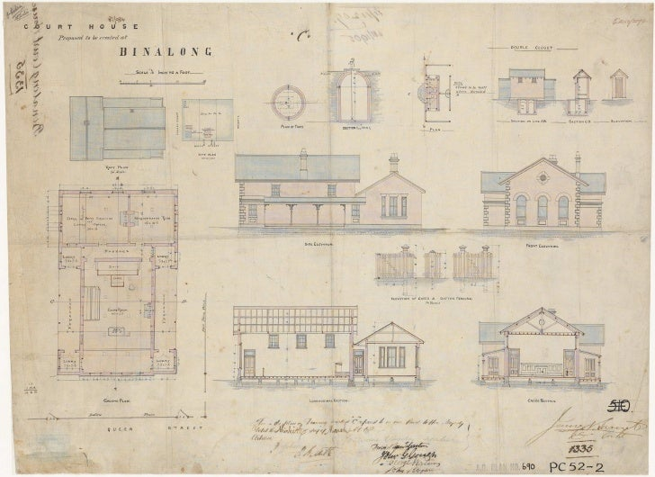 Binalong Court and Watch House, 1881