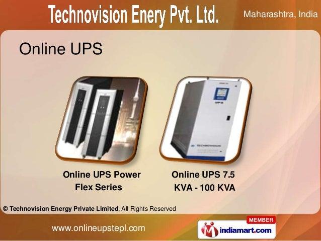 Maharashtra, India     Online UPS                   Online UPS Power                     Online UPS 7.5                   ...